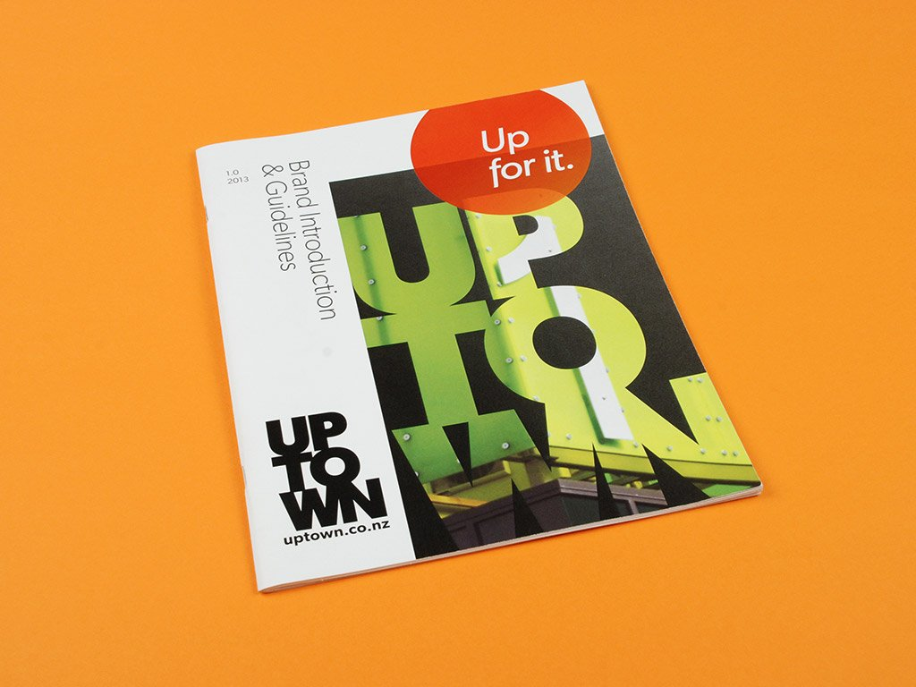 Uptown brand guidelines